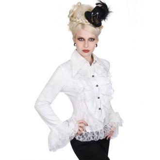 majica ženske Aderlass - Riffle Blouse V redu Denim (Bela), ADERLASS