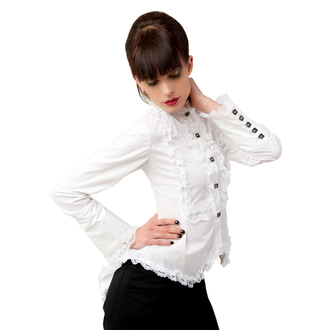 bluza ženske Aderlass - Krilo Blouse V redu Denim Bela, ADERLASS