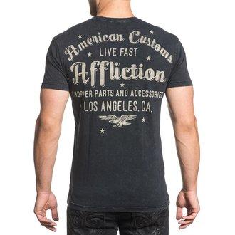majica hardcore moški - AC Vintage Dealer - AFFLICTION, AFFLICTION