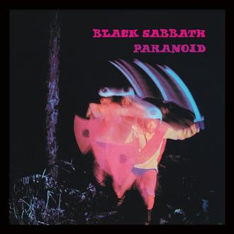 Uokvirjen plakat Black Sabbath (Paranoid) - PYRAMID POSTERS, PYRAMID POSTERS, Black Sabbath