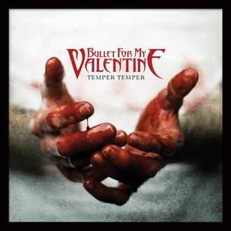 Uokvirjen plakat Bullet For My Valentine - (Temper Temper) - PYRAMID POSTERS, PYRAMID POSTERS, Bullet For my Valentine