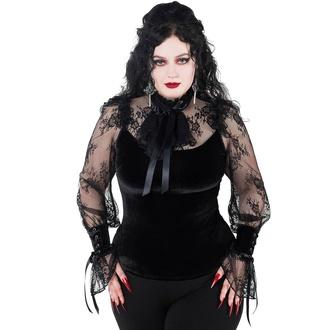 Ženska majica z dolgimi rokavi (top) KILLSTAR - Amber Lace (jantarna čipka), KILLSTAR