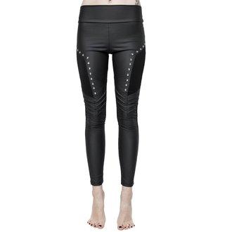 Ženske hlače (legice) KILLSTAR - Amulet - ČRNA, KILLSTAR