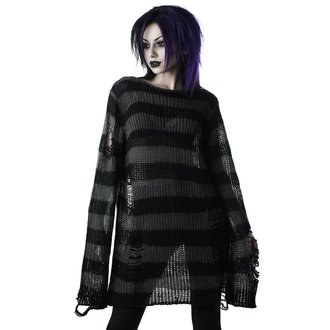 Pulover KILLSTAR - Ash Distress - BLACK, KILLSTAR