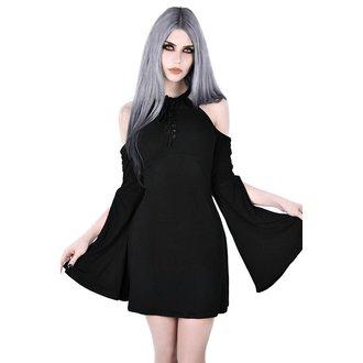 Ženska obleka KILLSTAR - AURA MAIDEN - BLACK, KILLSTAR
