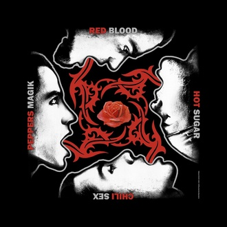 Ruta/ bandana Red Hot Chili Peppers - Blood Sugar Sex Magik - RAZAMATAZ, RAZAMATAZ, Red Hot Chili Peppers