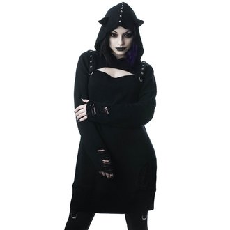 Ženski pulover KILLSTAR - Bad Kitty - BLACK, KILLSTAR
