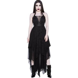 Ženska obleka KILLSTAR - Badlands - Črna, KILLSTAR