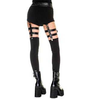 Ženske hlače (legice) KILLSTAR - Bailout- Črna, KILLSTAR