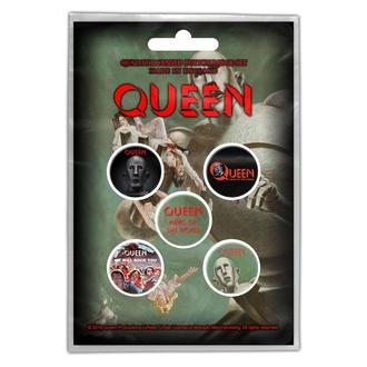 Značke Queen - News Of The World - RAZAMATAZ, RAZAMATAZ, Queen