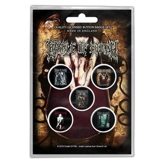 Značke Cradle Of Filth - Albums - RAZAMATAZ, RAZAMATAZ, Cradle of Filth