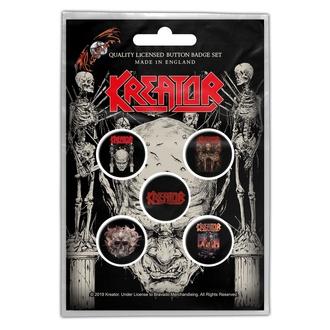 Značke Kreator - Skull & Skeletons - RAZAMATAZ, RAZAMATAZ, Kreator