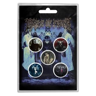 Značke Cradle Of Filth - Cryptoriana - RAZAMATAZ, RAZAMATAZ, Cradle of Filth