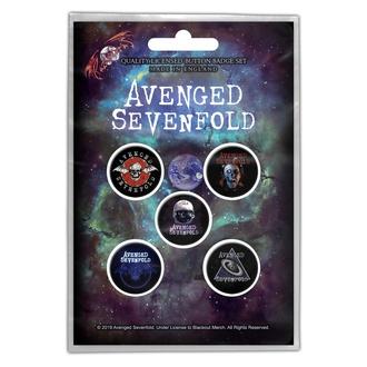 Značke Avenged Sevenfold - The Stage - RAZAMATAZ, RAZAMATAZ, Avenged Sevenfold