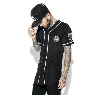 Unisex majica BLACK CRAFT - Team Satan Baseball Jersey, BLACK CRAFT