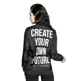 Unisex Jakna pomlad/jesen - Create Your Own Future - BLACK CRAFT, BLACK CRAFT