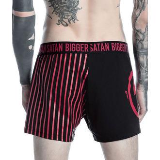 Boxer Kratke hlače Moški KILLSTAR - MARILYN MANSON - Večji Than Satan - Črno, KILLSTAR, Marilyn Manson