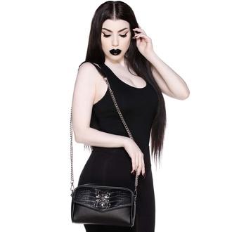 torbica (torba) KILLSTAR - Črna vdova Križ Telo - Črna, KILLSTAR