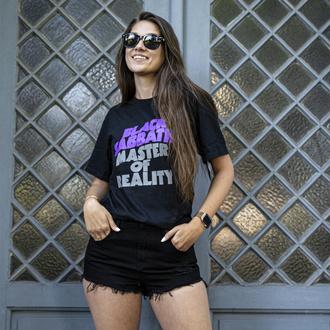 Ženska majica Black Sabbath - Wavy Logo - ROCK OFF, ROCK OFF, Black Sabbath