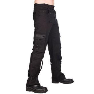 Moške hlače Black Pistol - Pyramide - Črno, BLACK PISTOL