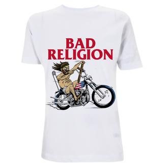 Moška majica Bad Religion - American Jesus -White Heavy, NNM, Bad Religion