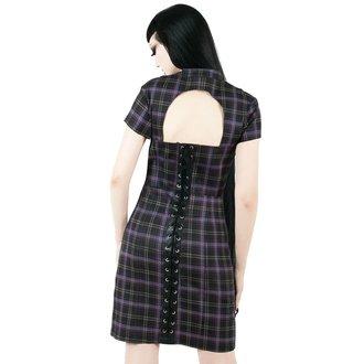 Ženska obleka KILLSTAR - Casey - TARTAN, KILLSTAR