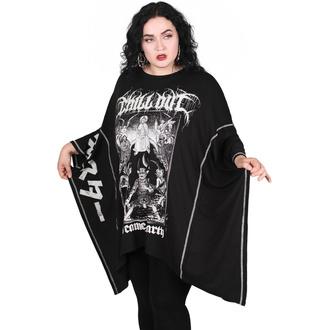 Ženska majica (tunika) KILLSTAR - Chill Out Batwing - Črna, KILLSTAR