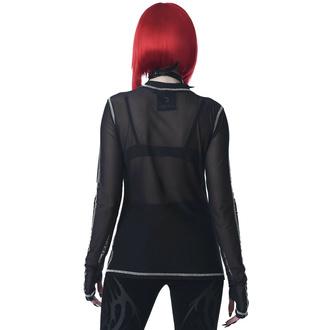 Ženska majica z dolgimi rokavi KILLSTAR - Chill Out Mesh - Črna, KILLSTAR