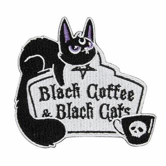 Likalna aplikacija KILLSTAR - Coffee & Cats - Črna, KILLSTAR