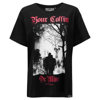 Unisex majica - Coffin Relaxed - KILLSTAR