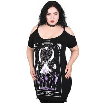 Ženska majica (top) KILLSTAR - Coven Distress - Črna, KILLSTAR