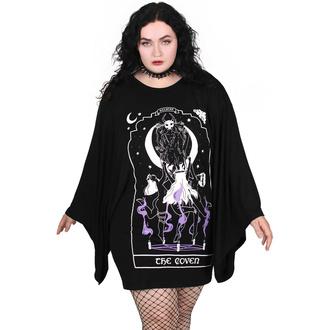 Ženska obleka (tunika) KILLSTAR - Coven Kimono - Črna, KILLSTAR