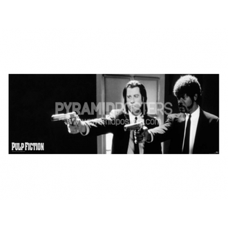 Poster - Pulp Fiction (črno/belo Pištole) - CPP20107, PYRAMID POSTERS, Pulp Fiction