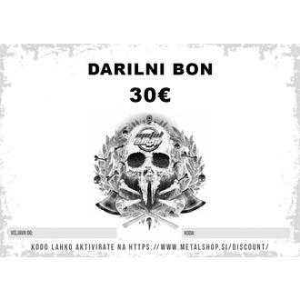Darilni bon 30 EUR