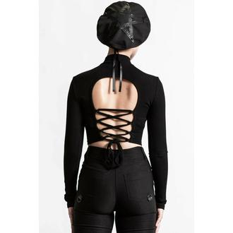 Ženska majica z dolgimi rokavi KILLSTAR - Darkest Hour Ribbed - Črna, KILLSTAR