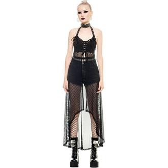 Ženska obleka (pletena) KILLSTAR - Darklist Duster - Črna, KILLSTAR