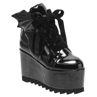 Ženski klinasti čevlji - Dead 4Ever - KILLSTAR, KILLSTAR