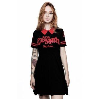 Ženska obleka KILLSTAR - ROB ZOMBIE - Dead City - ČRNA, KILLSTAR, Rob Zombie