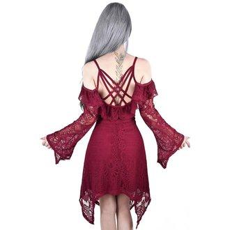 Ženska obleka KILLSTAR - Deadly beloved - Vino, KILLSTAR