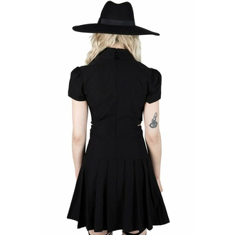 Ženska obleka KILLSTAR - Darita Suspender - Črna, KILLSTAR