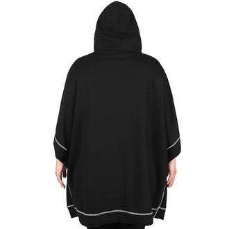 Ženska majica (tunika) KILLSTAR - Departed Batwing - Črna, KILLSTAR