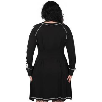 Ženska obleka KILLSTAR - Departed - Črna, KILLSTAR