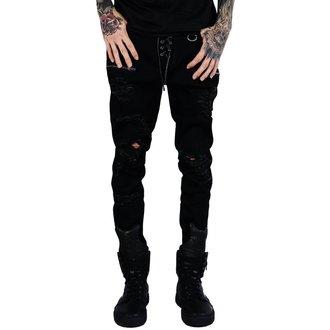 Hlače (unisex) KILLSTAR - Diablo Jeans - BLACK, KILLSTAR