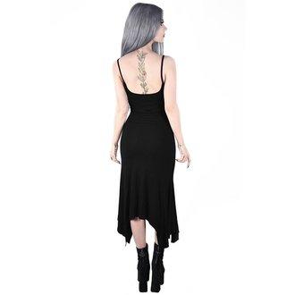 Ženska obleka KILLSTAR - Diabolica - BLACK, KILLSTAR