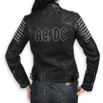 Ženska usnjena jakna AC-DC - ČRNA - NNM, NNM, AC-DC