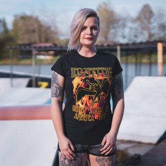Ženska metal majica Led Zeppelin - Black Flames - NNM, NNM, Led Zeppelin