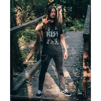 Moška metal majica Kiss - Skulls - LOW FREQUENCY, LOW FREQUENCY, Kiss