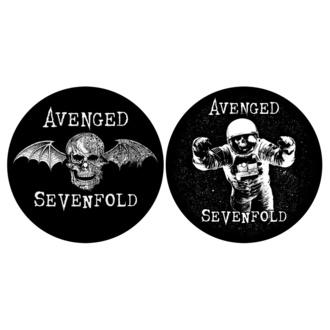 Blazinica za gramofon (komplet 2kos) AVENGED SEVENFOLD - DEATH BAT/ ASTRONAUT - RAZAMATAZ, RAZAMATAZ, Avenged Sevenfold