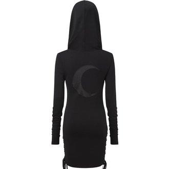 Ženska obleka KILLSTAR - ELEANOR - ČRNA, KILLSTAR
