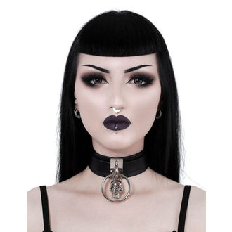 Ovratnica KILLSTAR - Elena Skull - BLACK, KILLSTAR